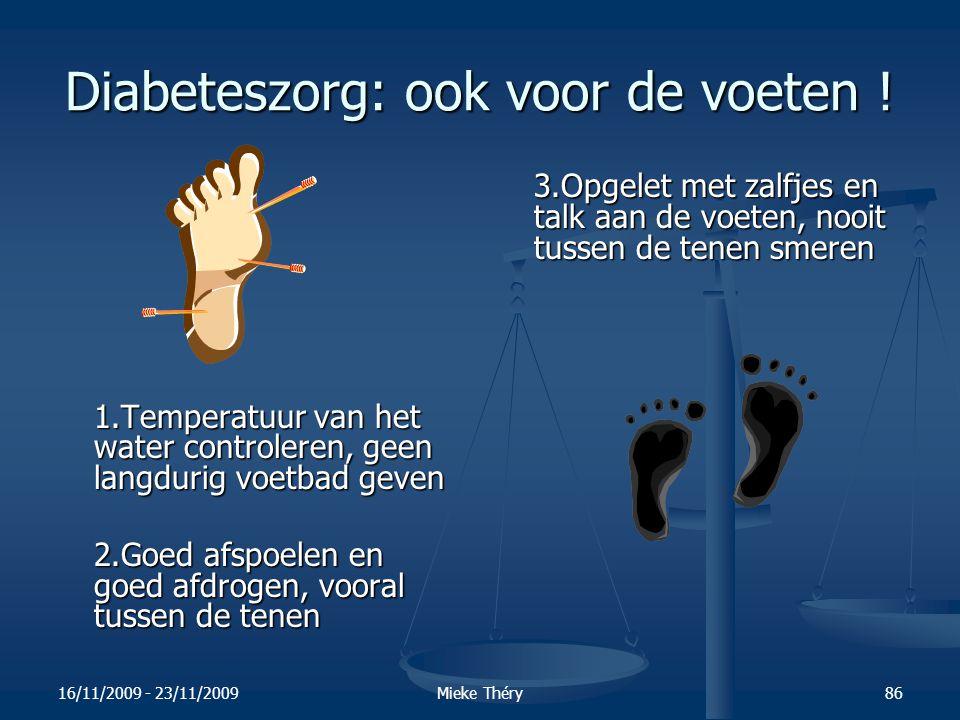 Diabeteszorg: ook voor de voeten !