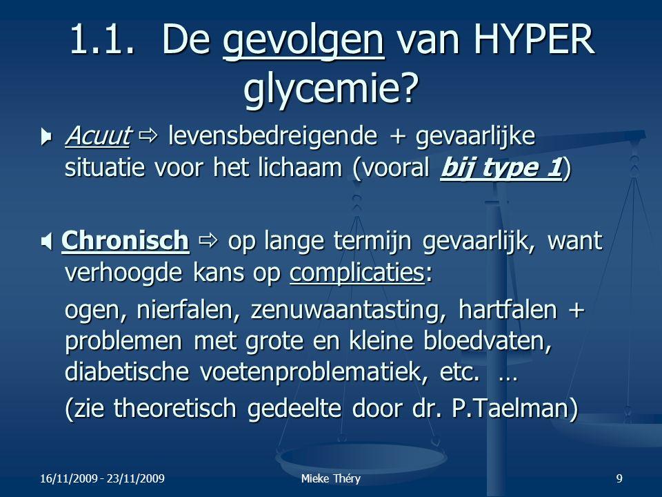 1.1. De gevolgen van HYPER glycemie