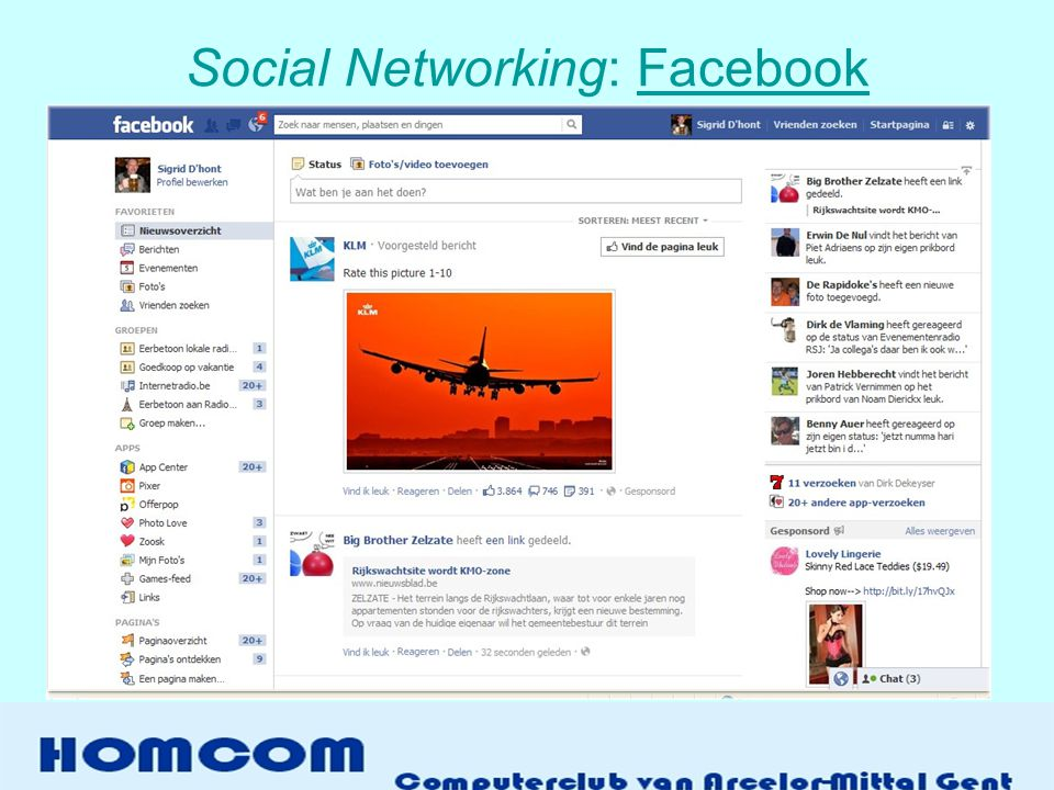 Social Networking: Facebook