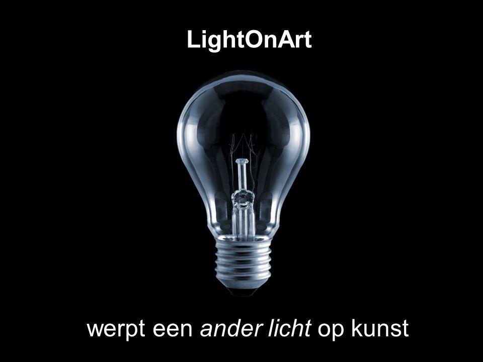 LightOnArt werpt een ander licht op kunst