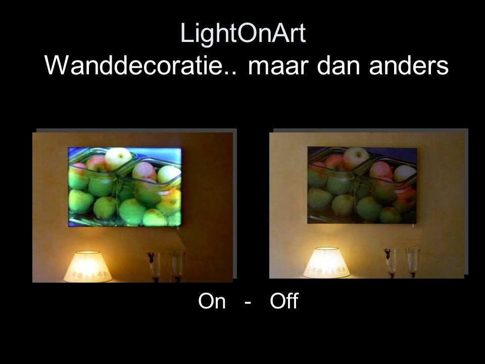 LightOnArt Wanddecoratie.. maar dan anders