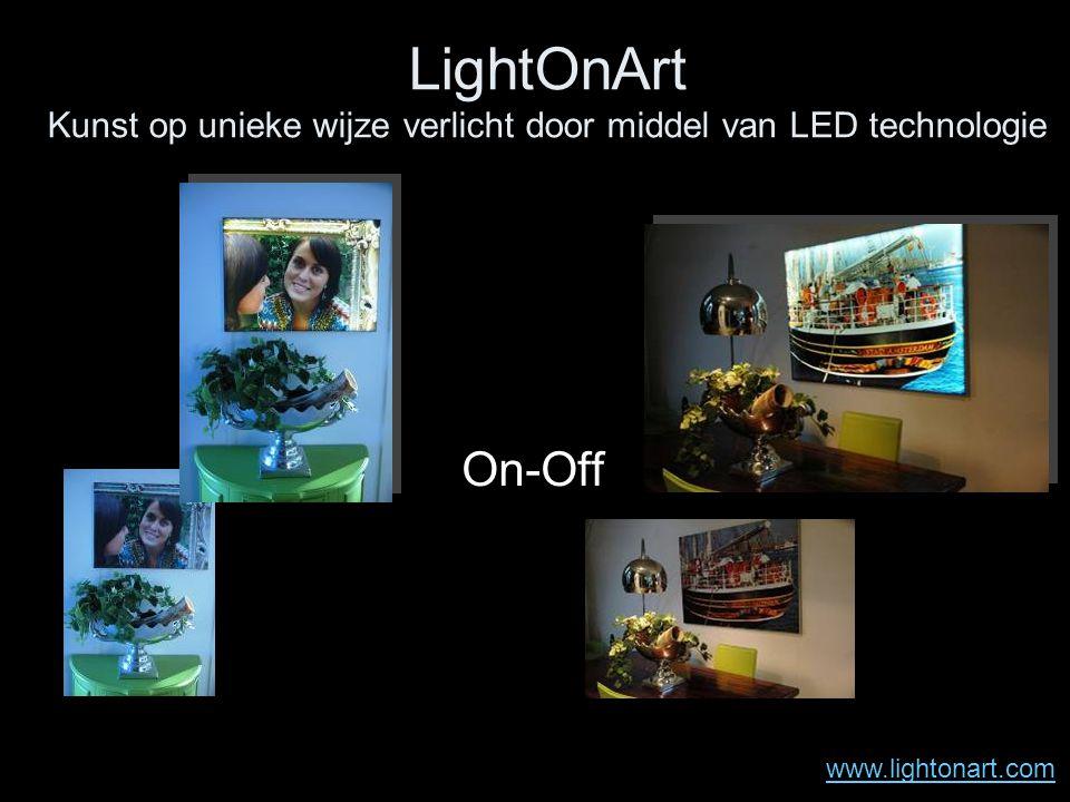 LightOnArt Kunst op unieke wijze verlicht door middel van LED technologie