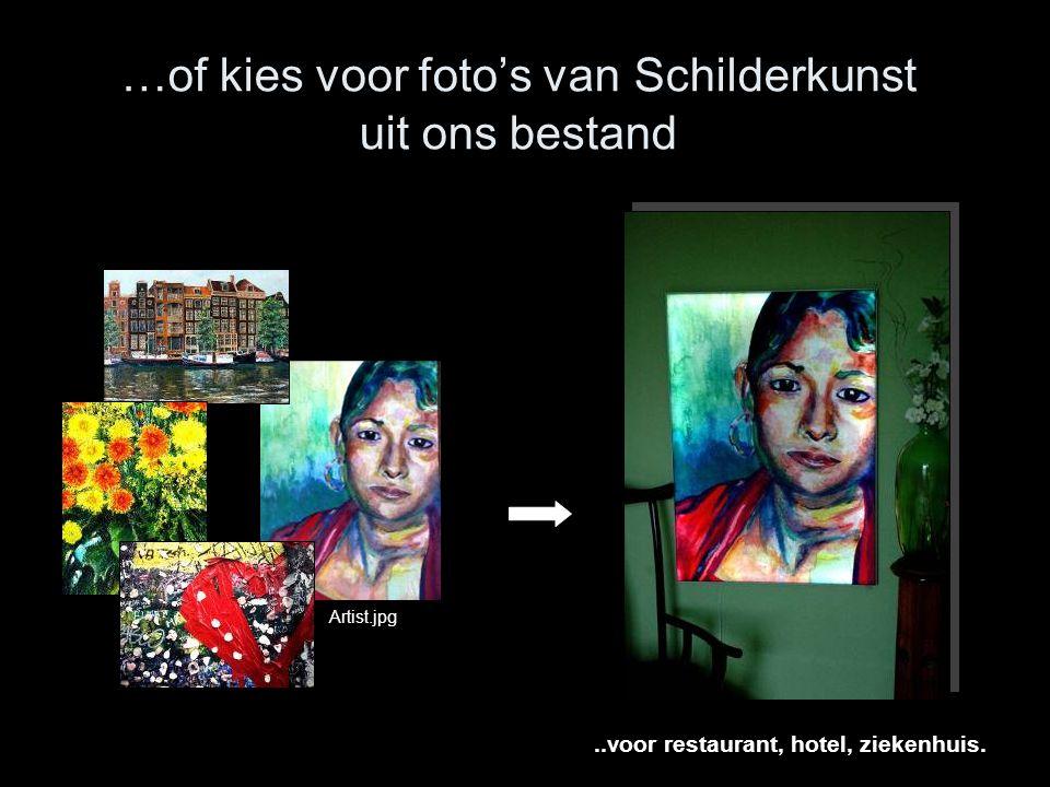 …of kies voor foto's van Schilderkunst uit ons bestand