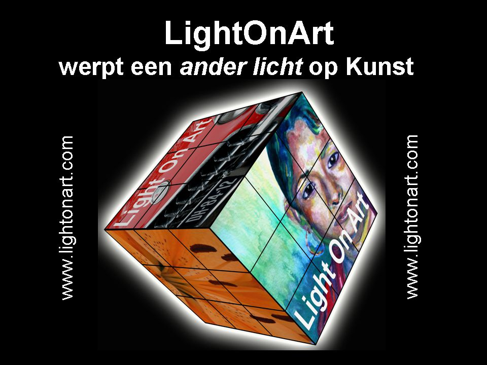 LightOnArt een concept dat een ''ander licht'' werpt op kunst
