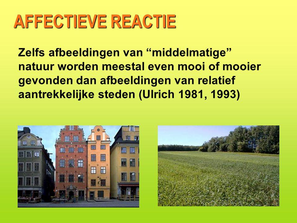 AFFECTIEVE REACTIE