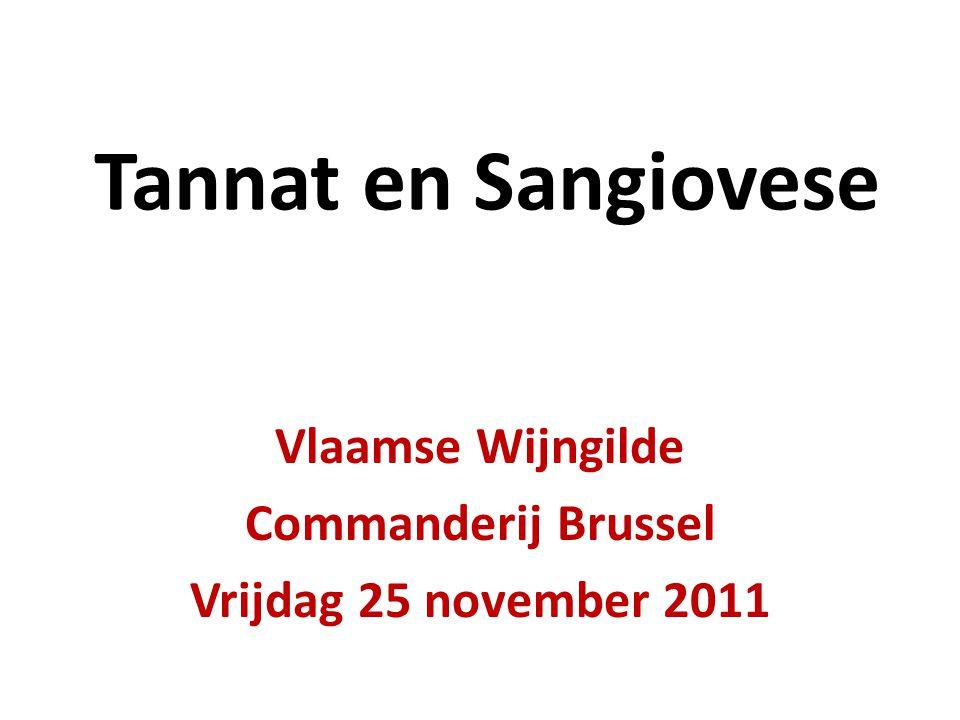 Vlaamse Wijngilde Commanderij Brussel Vrijdag 25 november 2011