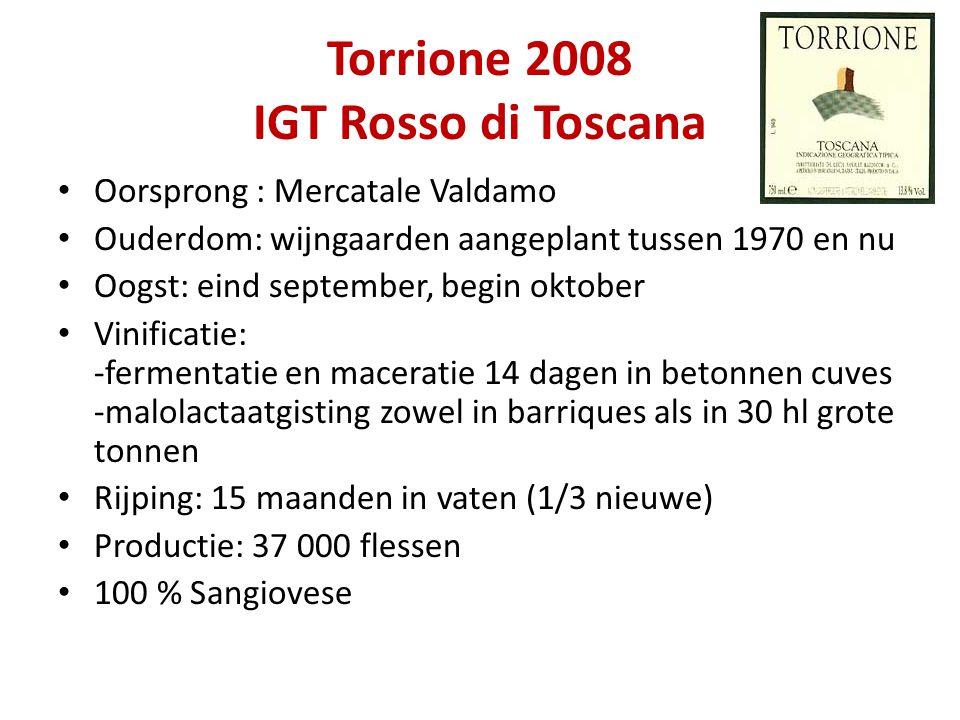 Torrione 2008 IGT Rosso di Toscana