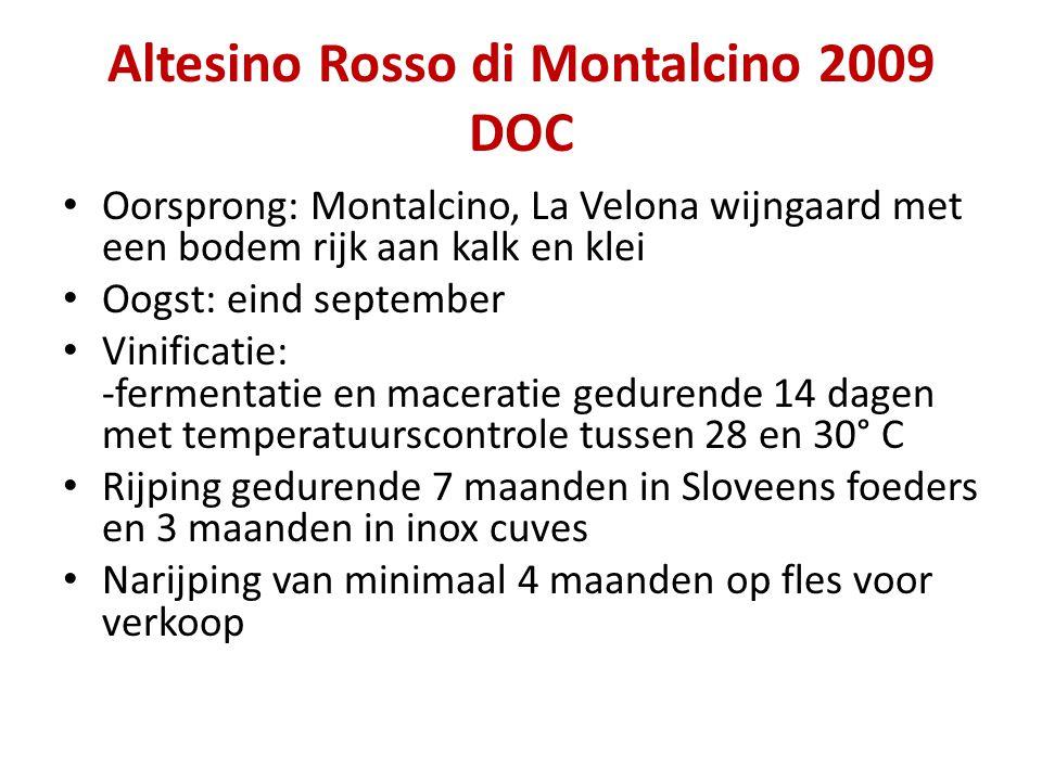 Altesino Rosso di Montalcino 2009 DOC