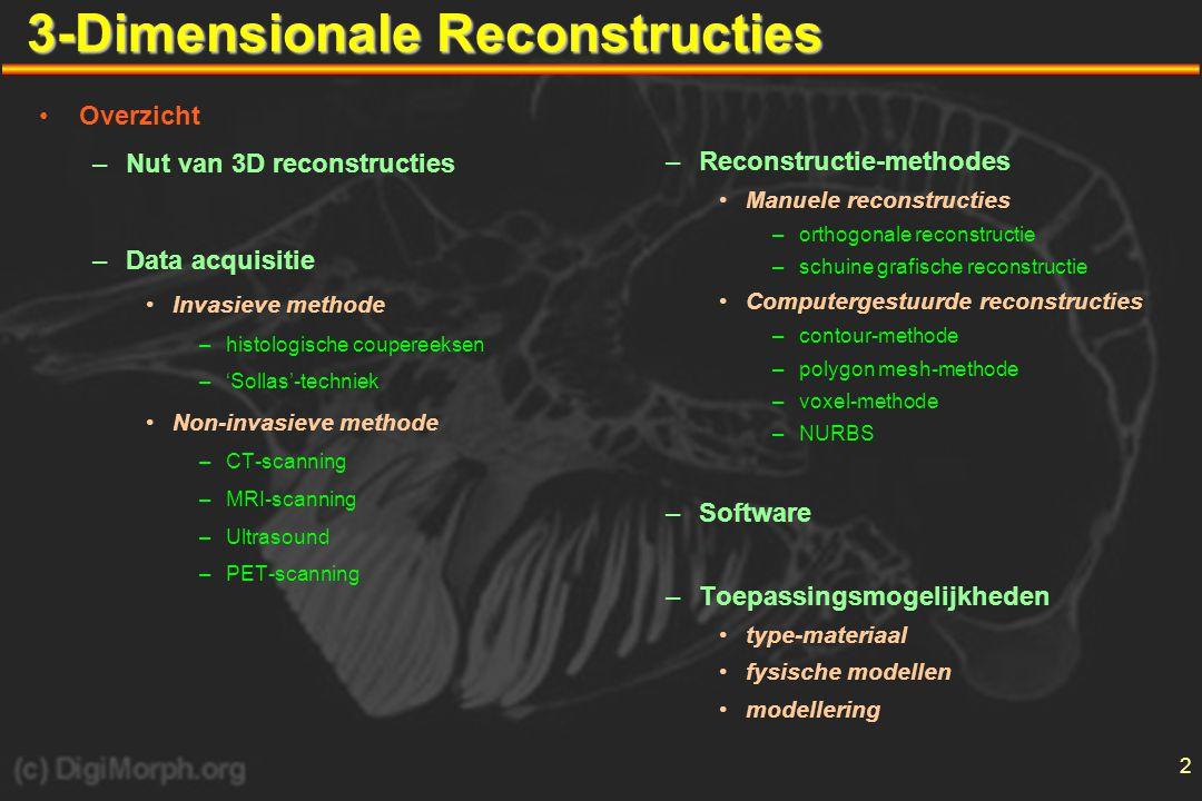 3-Dimensionale Reconstructies