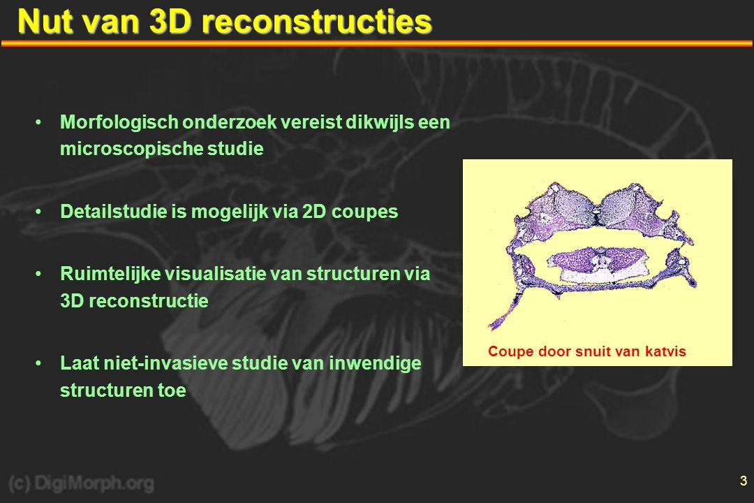 Nut van 3D reconstructies