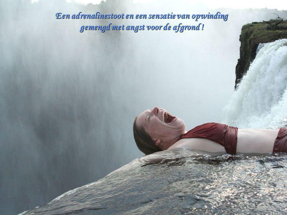 Een adrenalinestoot en een sensatie van opwinding