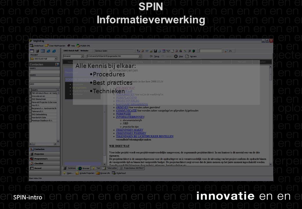 SPIN Informatieverwerking