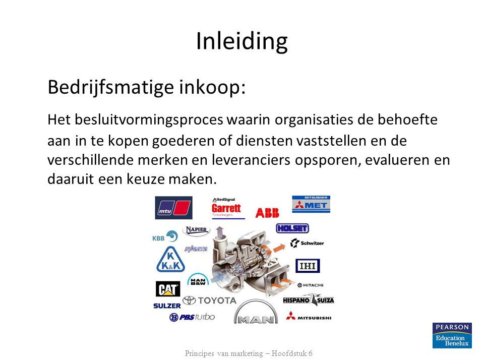 Principes van marketing – Hoofdstuk 6