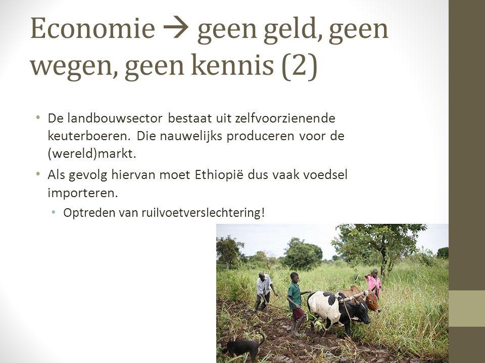 Economie  geen geld, geen wegen, geen kennis (2)
