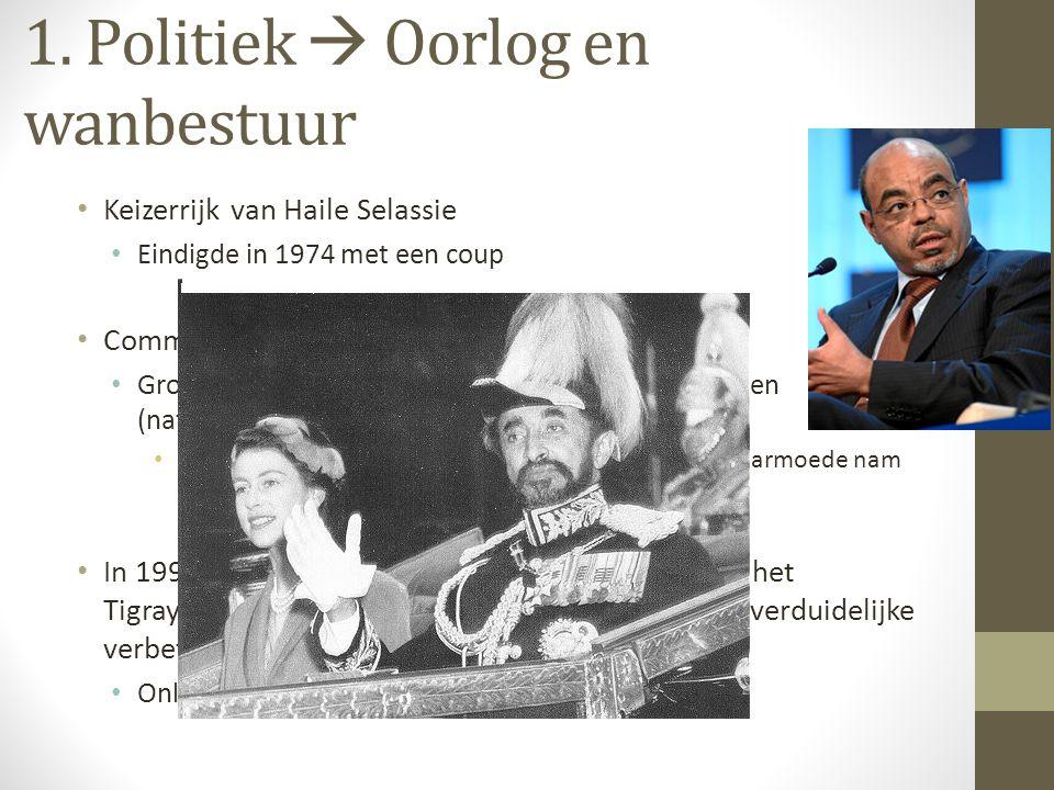 1. Politiek  Oorlog en wanbestuur