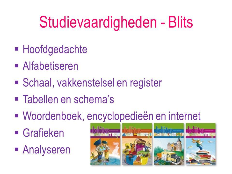 Studievaardigheden - Blits