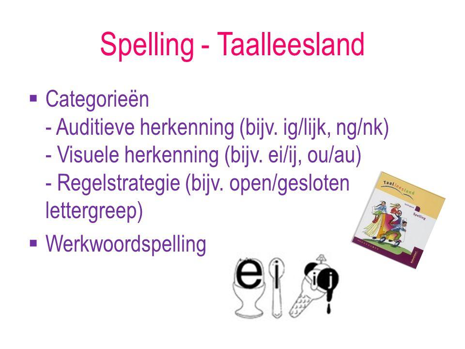 Spelling - Taalleesland