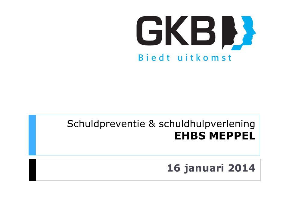 Schuldpreventie & schuldhulpverlening EHBS MEPPEL