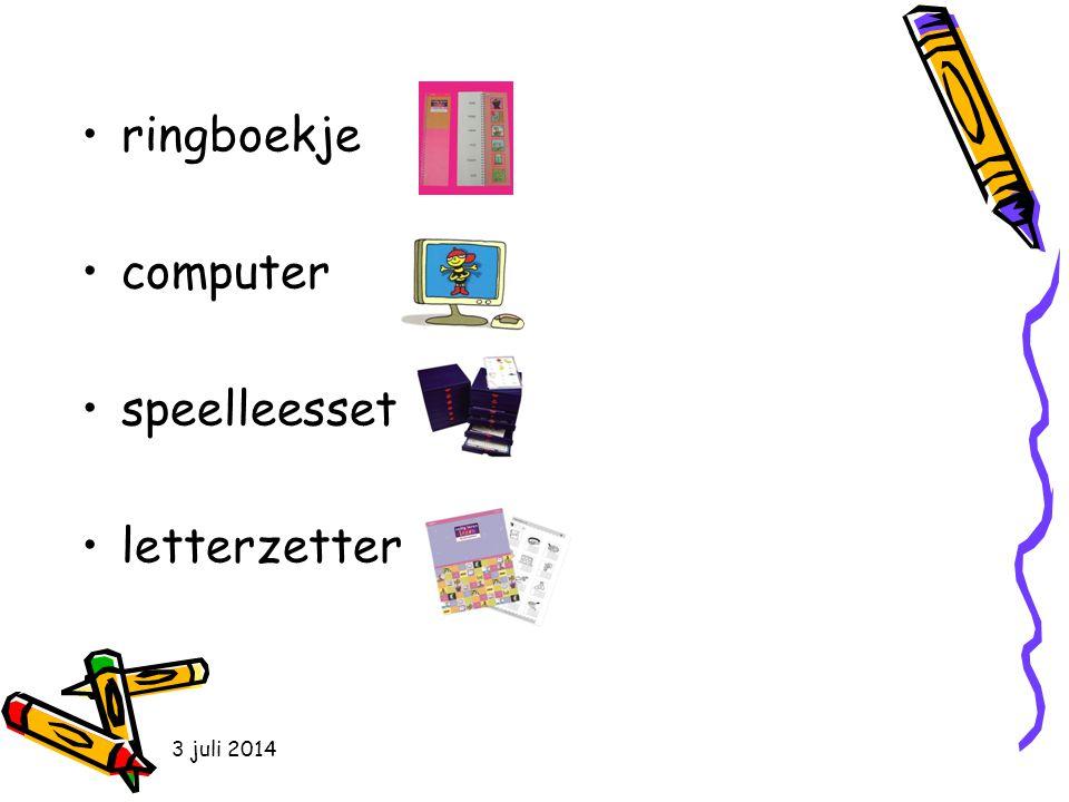 ringboekje computer speelleesset letterzetter 4 april 2017