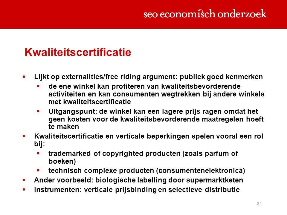 Kwaliteitscertificatie