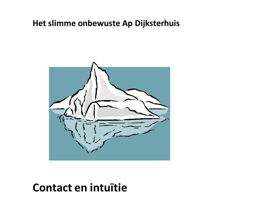 Het slimme onbewuste Ap Dijksterhuis