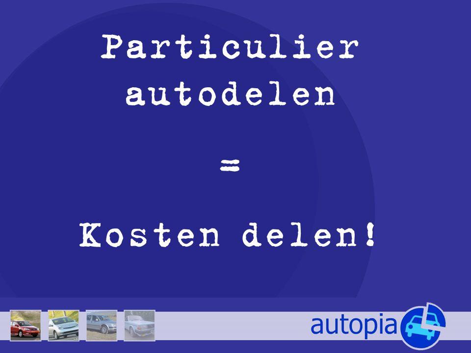 Particulier autodelen