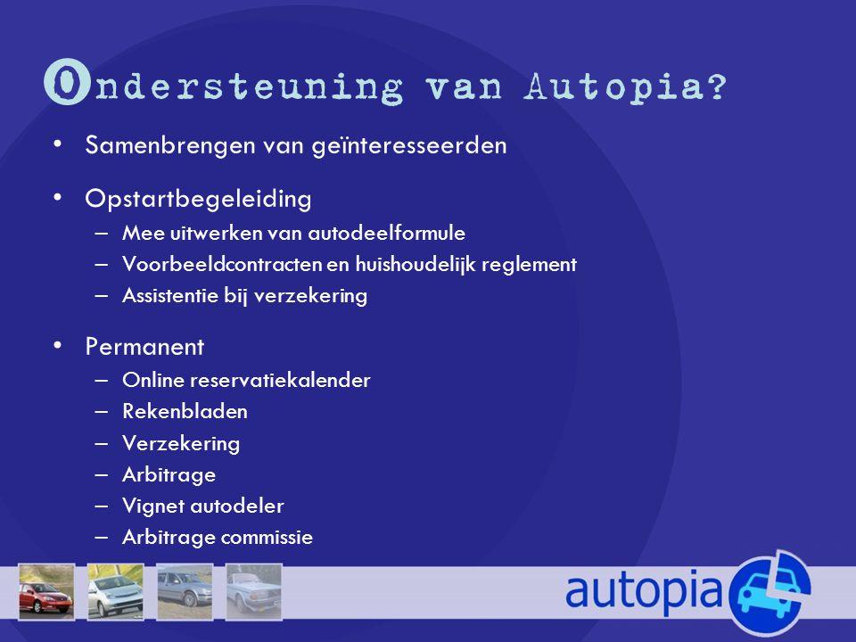 O ndersteuning van Autopia