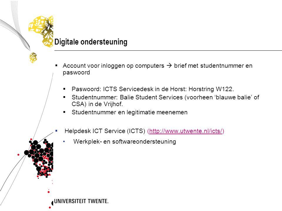 Digitale ondersteuning