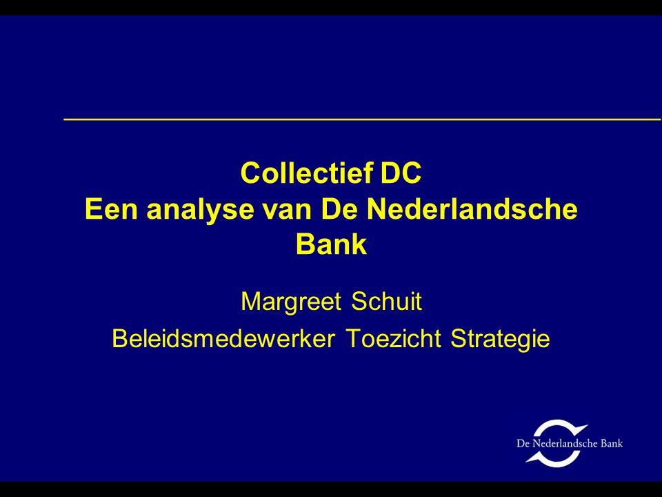 Collectief DC Een analyse van De Nederlandsche Bank