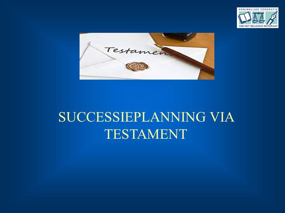 SUCCESSIEPLANNING VIA TESTAMENT