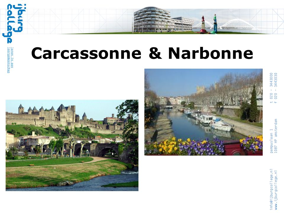 Carcassonne & Narbonne
