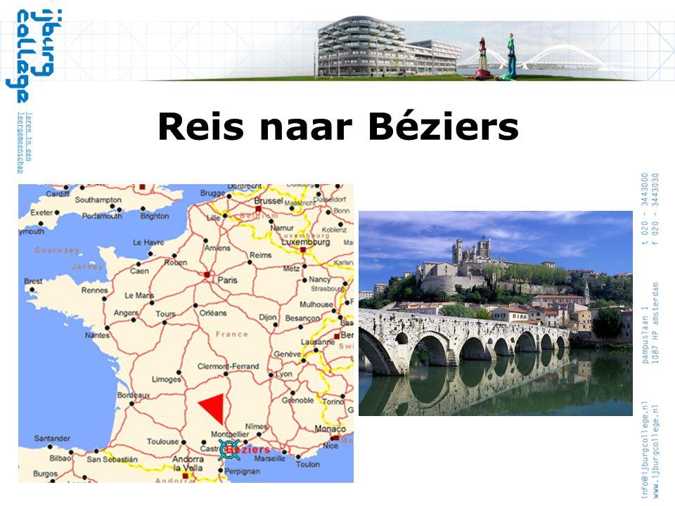 Reis naar Béziers