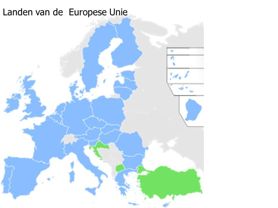 Landen van de Europese Unie