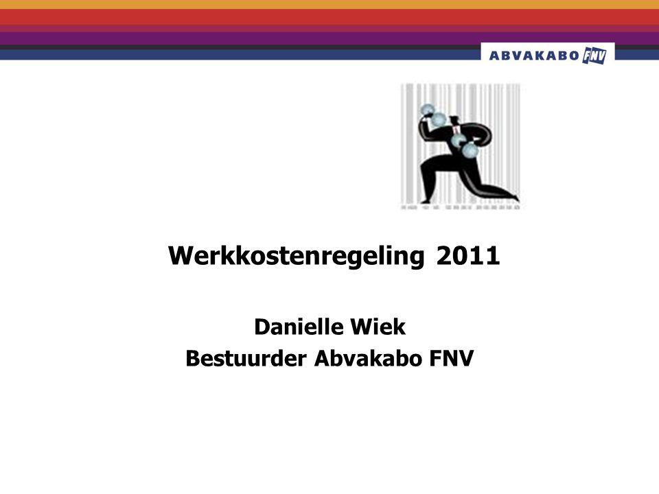 Danielle Wiek Bestuurder Abvakabo FNV