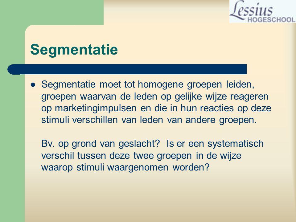 Segmentatie