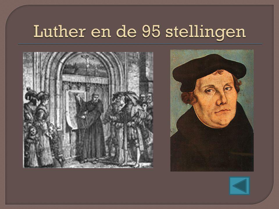 Luther en de 95 stellingen
