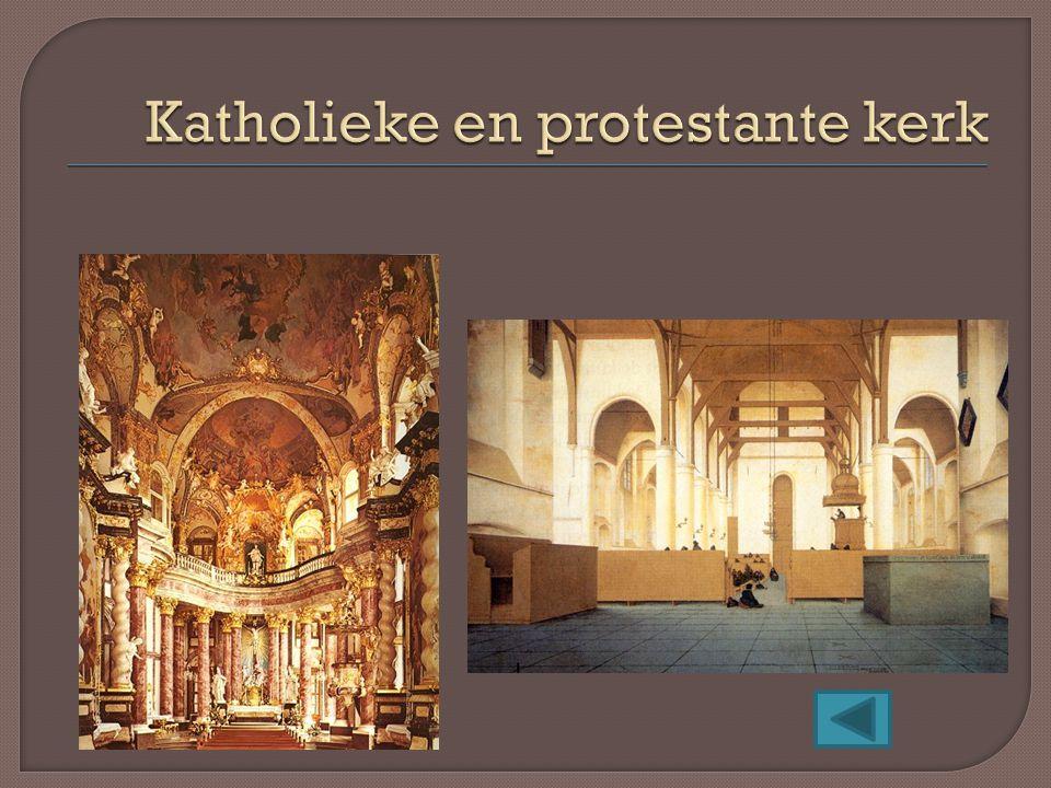 Katholieke en protestante kerk