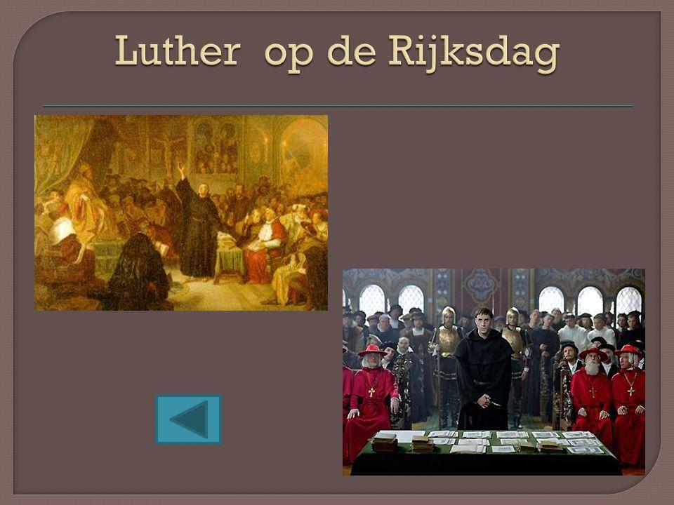 Luther op de Rijksdag