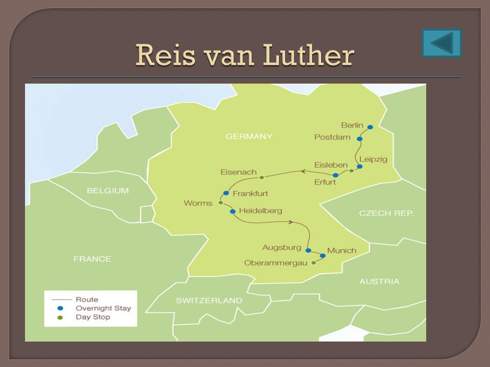 Reis van Luther