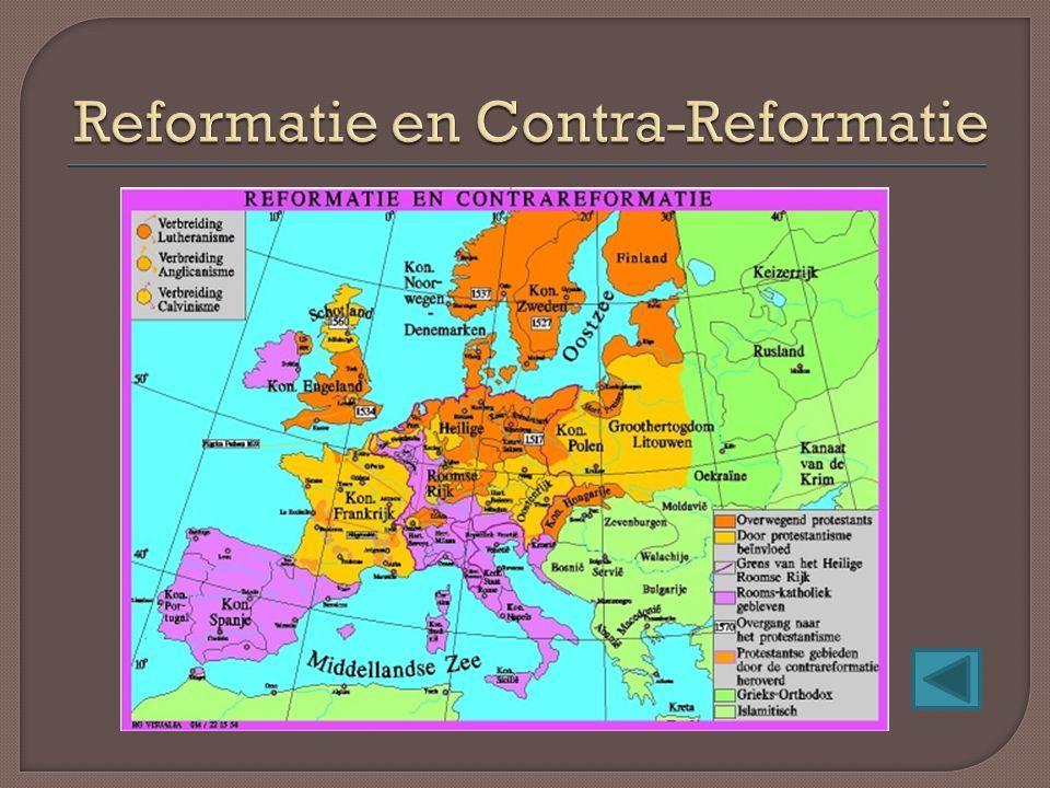 Reformatie en Contra-Reformatie