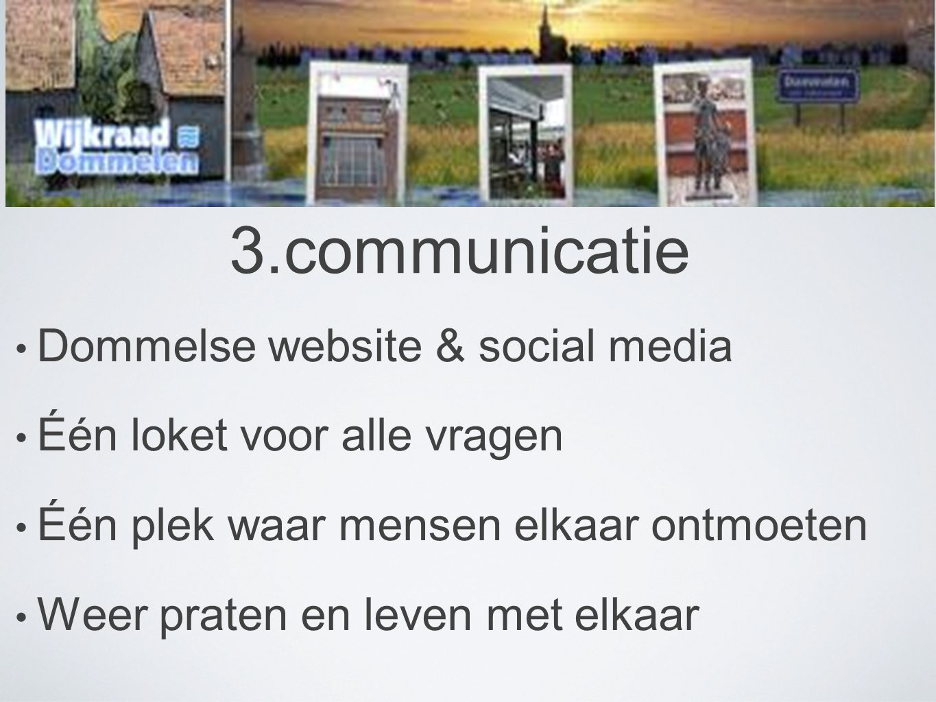 3.communicatie Dommelse website & social media