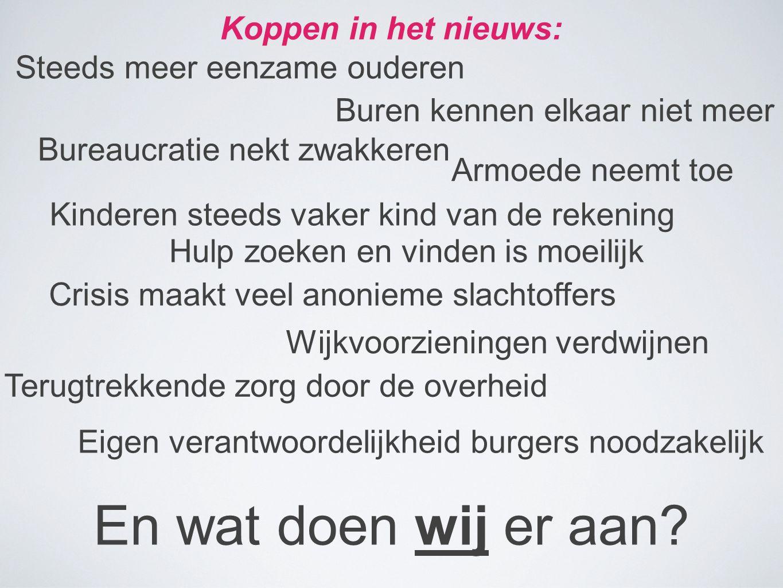 En wat doen wij er aan Koppen in het nieuws: