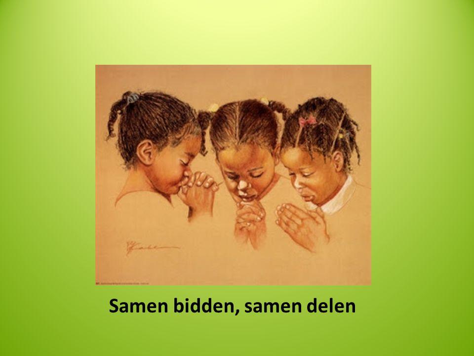 Samen bidden, samen delen