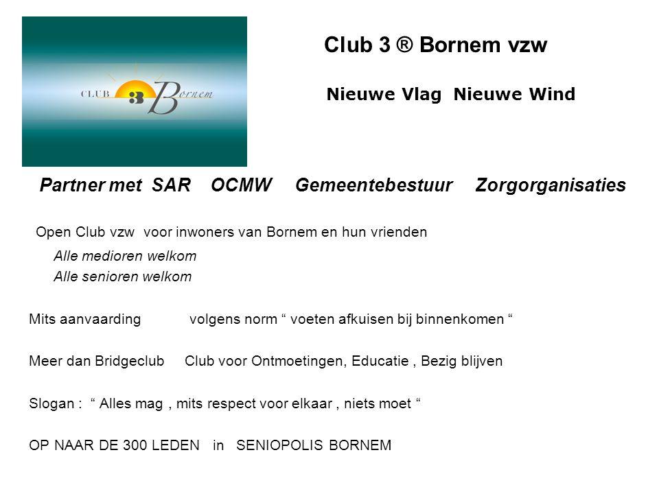 Open Club vzw voor inwoners van Bornem en hun vrienden