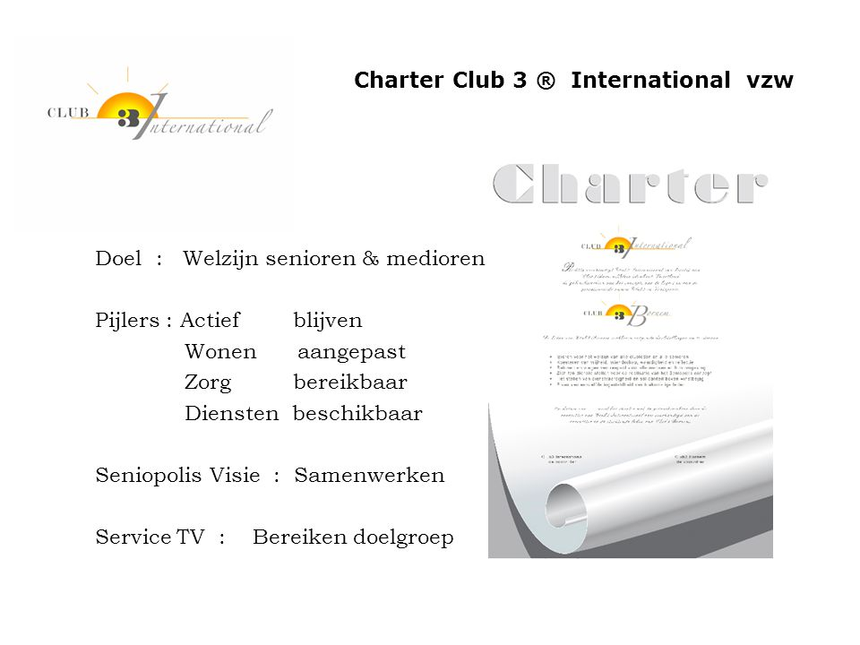 Ledenbesta Charter Club 3 ® International vzw