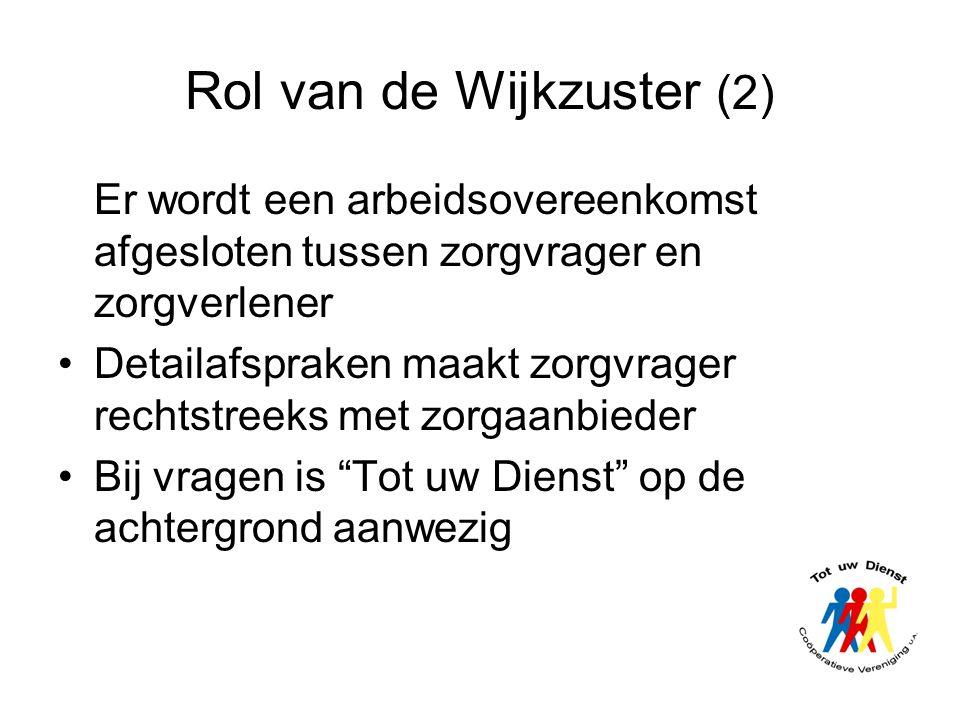 Rol van de Wijkzuster (2)