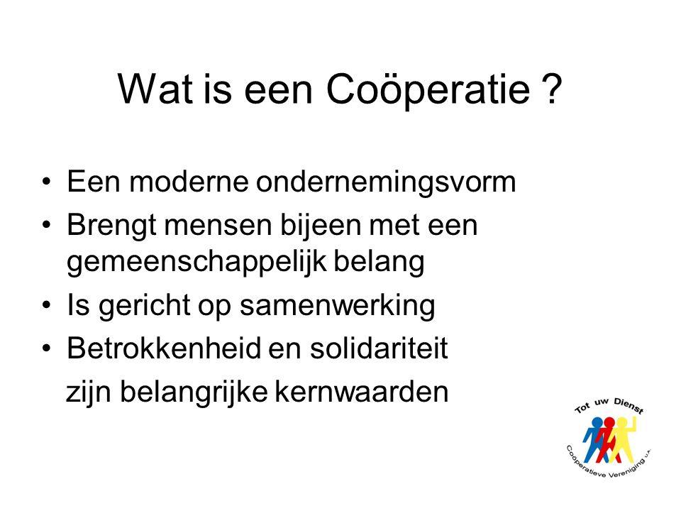 Wat is een Coöperatie Een moderne ondernemingsvorm