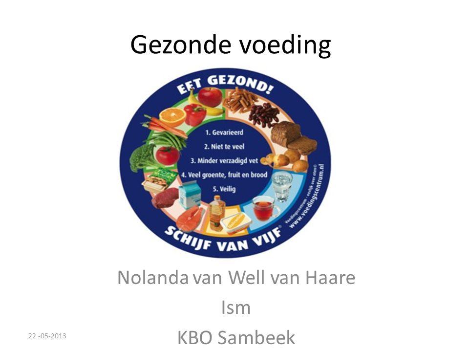Nolanda van Well van Haare Ism KBO Sambeek