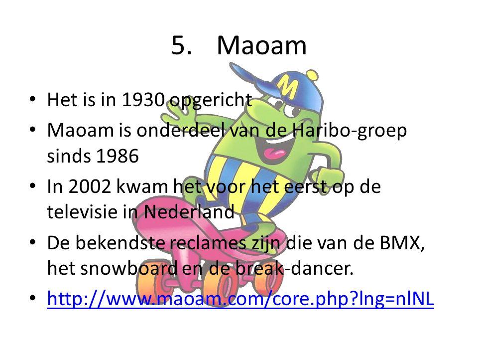 Maoam Het is in 1930 opgericht
