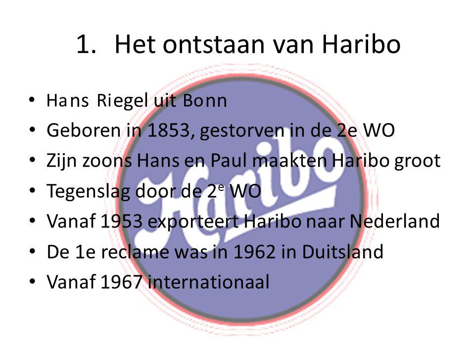 Het ontstaan van Haribo